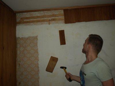 Rozpoczęcie remontu (duży pokój)